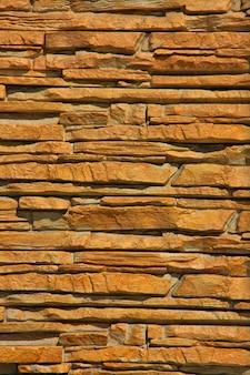 Ein gestapelter steinwand-beschaffenheits-hintergrund