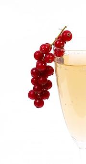 Ein glas champagner