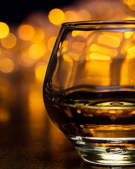 Ein glas cognac