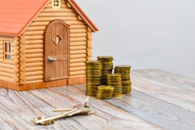 Ein haus kaufen. registrierung von immobilien.