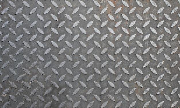 Ein hintergrund der metallplatte, nahtlose beschaffenheit