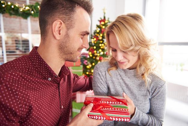 Ein kleines weihnachtsgeschenk für kollegen