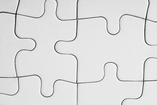Ein leerer puzzle-hintergrund