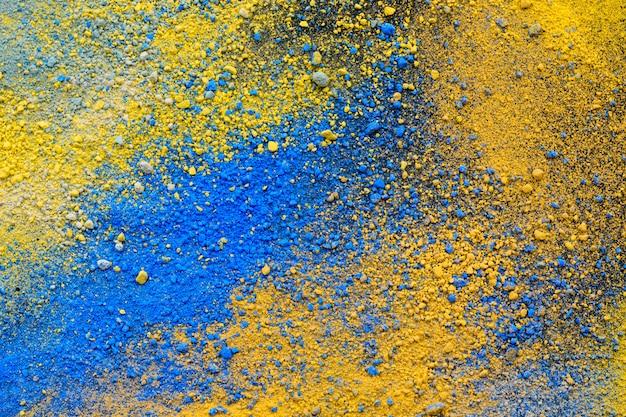 Ein spritzer von natürlichen pigmenten in pastellfarben