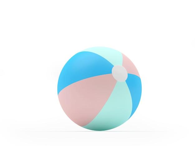 Ein strandball