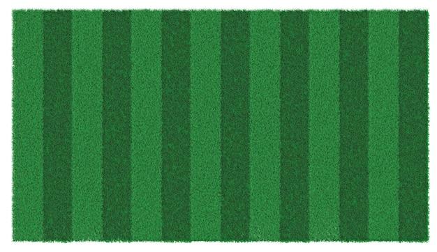 Ein stück grüner, üppiger rasen