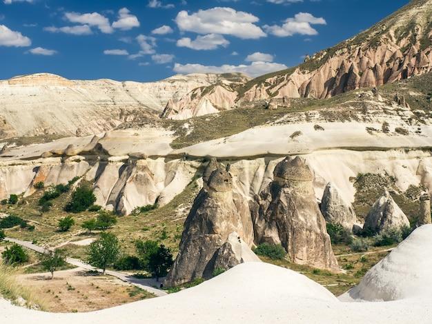 Ein tal in cappadocia, die zentrale türkei