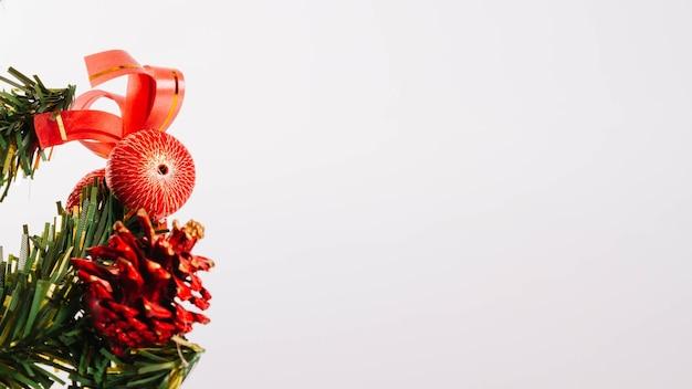 Ein teil des weihnachtsbaums