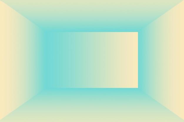 Ein weicher vintage-farbverlaufsunschärfehintergrund mit pastellfarbenem brunnen, der als studioraum, produktpräsentation und banner verwendet wird.