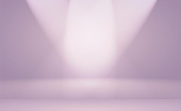 Ein weicher vintage-gradientenunschärfehintergrund mit pastellfarbenem brunnen, der als studioraum, produktpräsentation und banner verwendet wird.