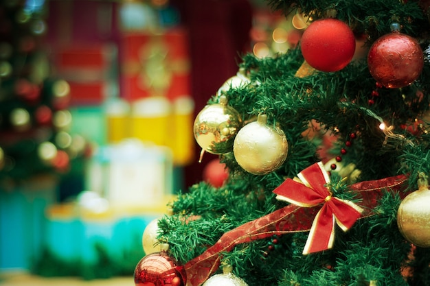 Ein weihnachtshintergrund