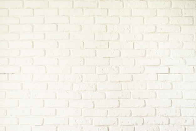 Ein weißer backsteinmauerbeschaffenheitshintergrund