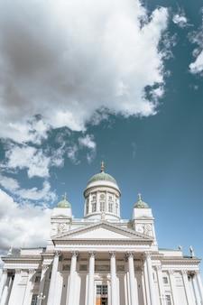 Eine aufnahme der kathedrale von helsinki helsinki