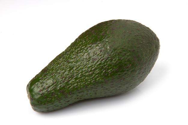 Eine avocado isoliert