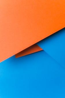 Eine draufsicht des abstrakten papierhintergrundes