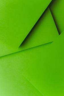Eine erhöhte ansicht des abstrakten papierhintergrundes