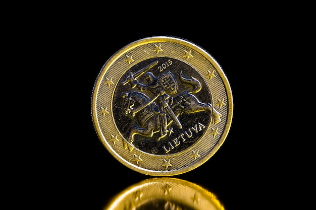 Eine euro-münze