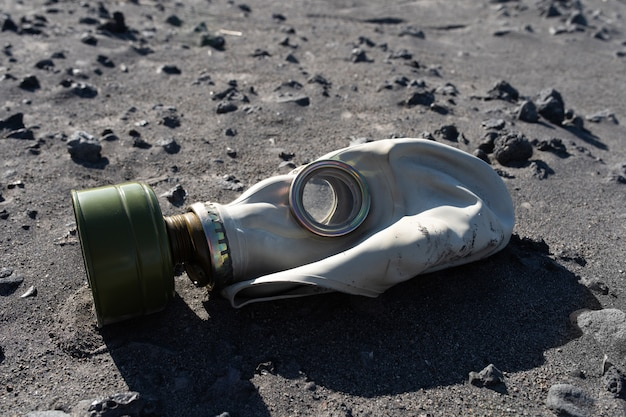 Eine gasmaske