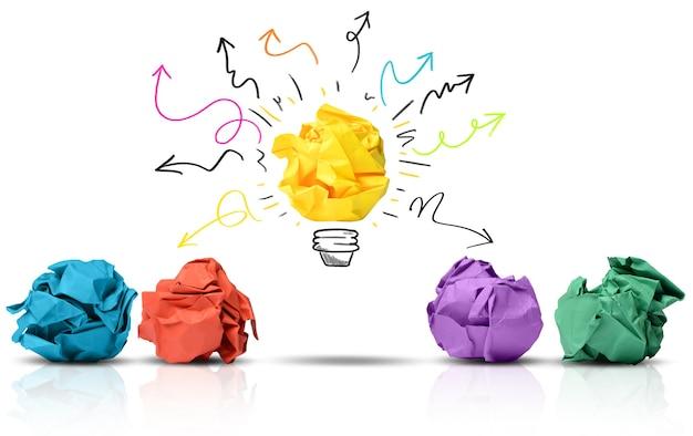 Eine großartige idee kann den unterschied machen
