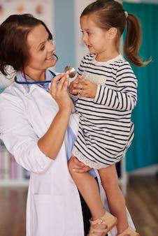 Eine gute beziehung zwischen patient und arzt ist sehr wichtig