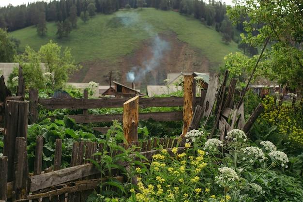 Eine interessante verkürzung des ländlichen russischen lebens.
