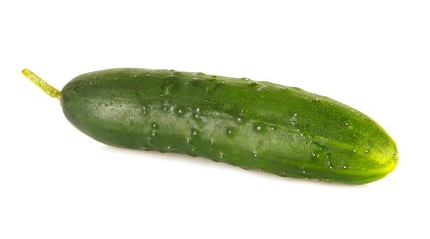Eine isolierte gurke