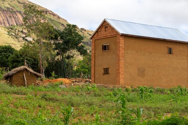 Eine landschaftsaufnahme der insel madagaskar