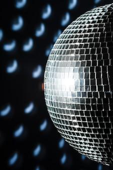 Eine mirror discokugel