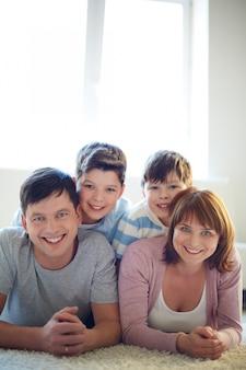 Eine perfekte familie