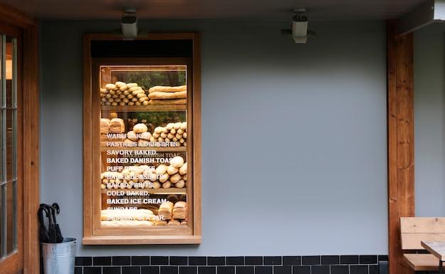 Eine trendige bäckerei