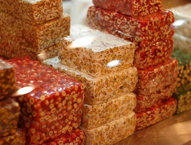 Eine verschiedene arabische süße