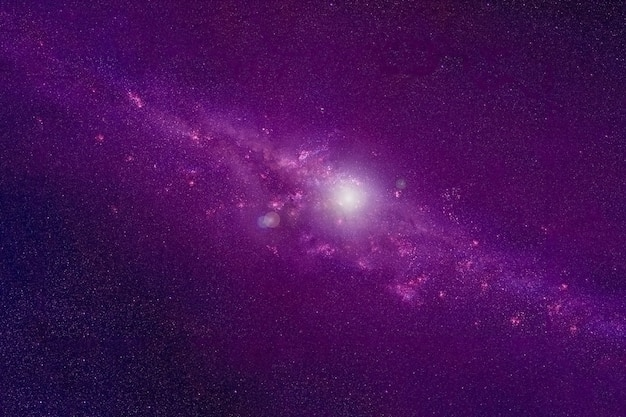 Eine wunderschöne galaxie im weltraum elemente dieses bildes wurden von der nasa bereitgestellt