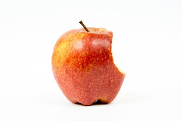 Einen apfel essen