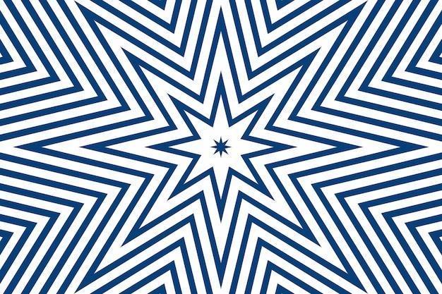 Einfache gerade blaue linienstreifen in verschiedenen designformen auf weißem hintergrund