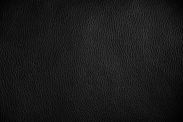 Einfache oberfläche des schwarzen luxusledertexturhintergrundes