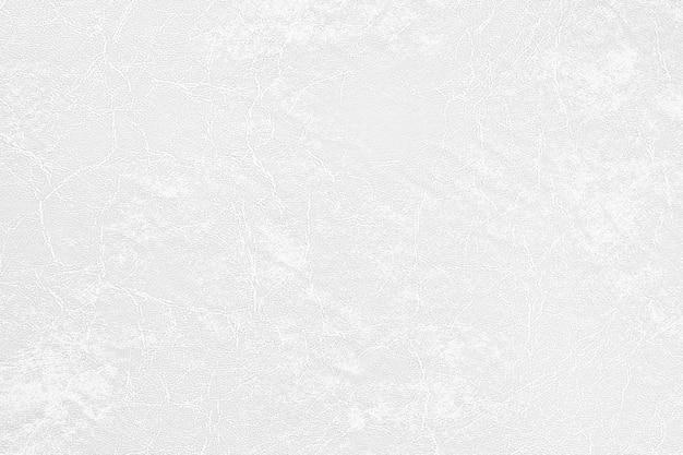 Einfache oberfläche des weißen ledernen beschaffenheitluxushintergrundes