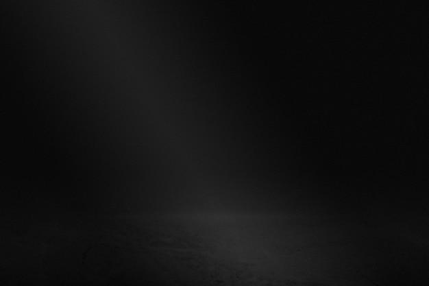 Einfacher dunkelschwarzer wandprodukthintergrund