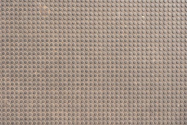 Einfacher gemusterter metallhintergrund