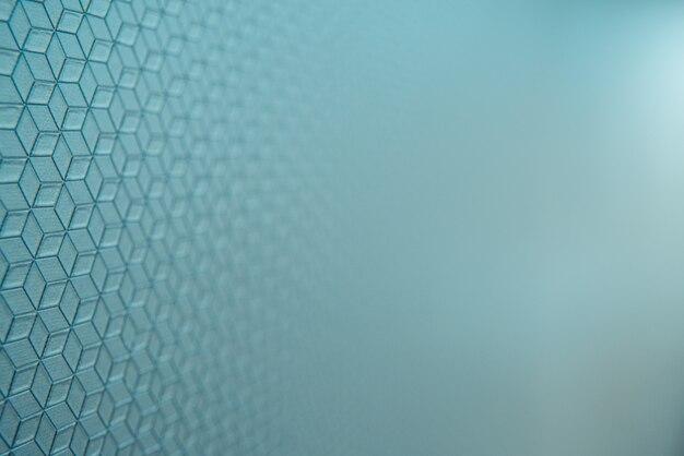 Einfacher hintergrund im vordergrund mit linien und rahmen im technologischen stil, mit unscharfem farbverlauf und verblassten blautönen.