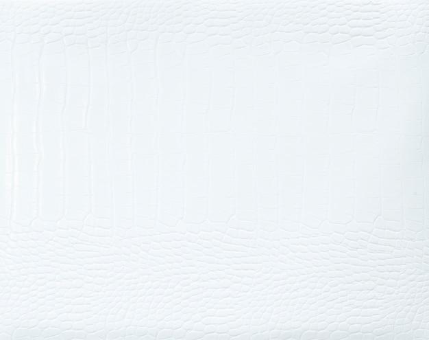 Einfacher weißer strukturierter hintergrund aus leder