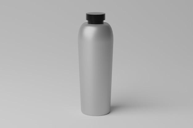 Einfaches realistisches 3d-flaschenmodell