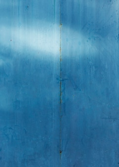 Einfarbiges blau gemalte alte hölzerne beschaffenheit