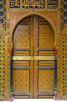 Eingang im marokkanischen stil