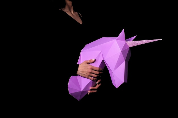 Einhorn - ein mythisches wesen, das integrität symbolisiert