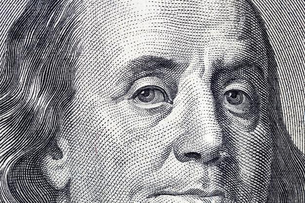 Einhundert amerikanische dollar