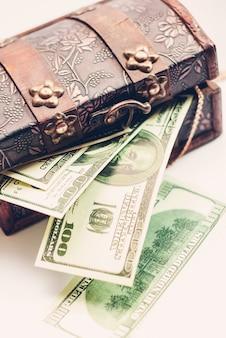 Einhundert dollar banknoten