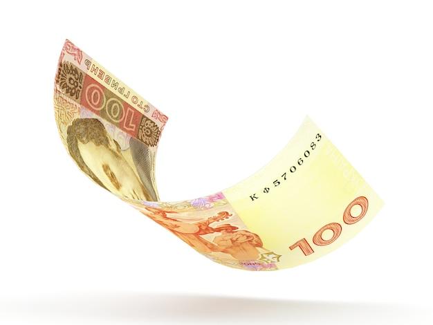 Einhundert griwna banknote