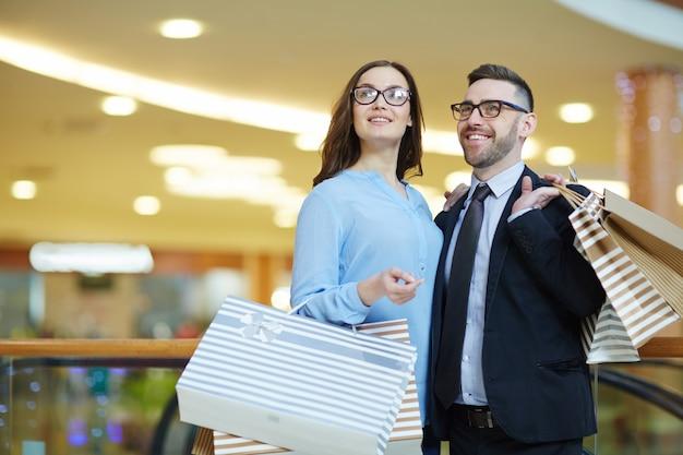 Einkaufen in der mall