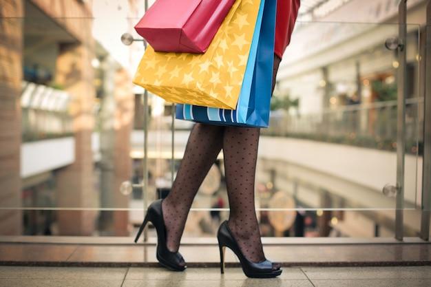 Einkaufen in einem einkaufszentrum