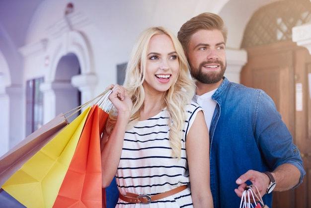Einkaufen ist der beste weg für gute laune